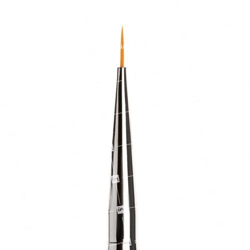 TNL, Кисть для рисования №000 - С серебряными кристалламиКисти для дизайна<br><br>