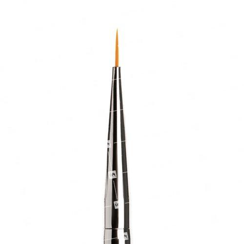 TNL, Кисть для рисования №000 - С сиреневыми кристалламиКисти для дизайна<br><br>