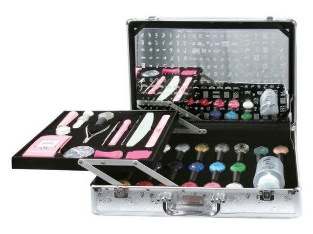 Konad, набор для стемпинга Pro Salon Kit 2Наборы для стемпинга Konad<br>Профессиональный набор, состоящий из лучших продуктов Konad.<br>