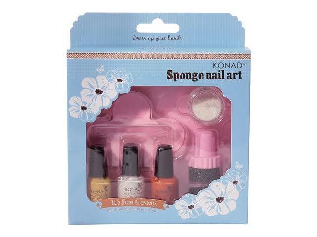 Konad, набор для стемпинга Sponge Set 1 (Konad (Корея))