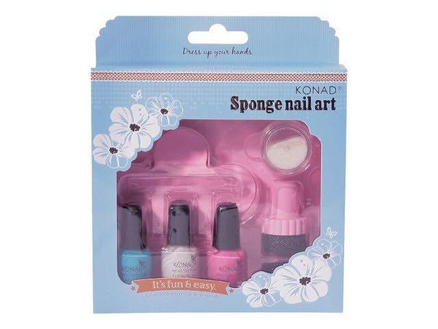 Konad, набор для стемпинга Sponge Set 2Наборы для стемпинга Konad<br>Набор для стемпинга с губкой. Специально для создания градиентного маникюра в стиле «омбре».<br>