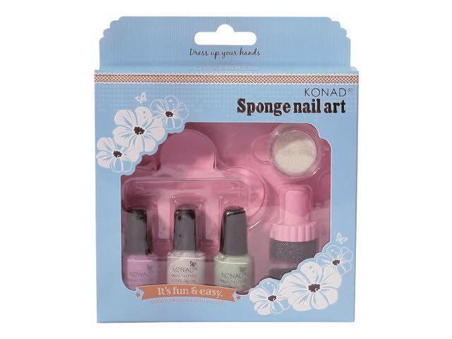 Konad, набор для стемпинга Sponge Set 3Наборы для стемпинга Konad<br>Набор для стемпинга с губкой. Специально для создания градиентного маникюра в стиле «омбре».<br>