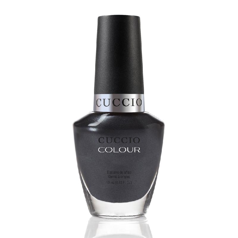 Cuccio Veneer, Лак цвет № 6052 Oh My Prague 13 mlЛаки Cuccio Veneer<br>Лак темный графитово-серый, перламутровый, плотный.<br>