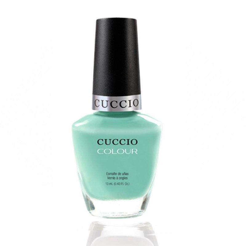 Cuccio Veneer, Лак цвет № 6100 Mint Condition 13 mlЛаки Cuccio Veneer<br>Лак пастельно-мятный, без блесток и перламутра, плотный.<br>