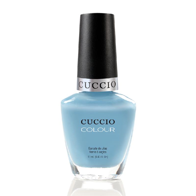 Cuccio Veneer, Лак цвет № 6101 Under A Blue Moon 13 mlЛаки Cuccio Veneer<br>Лак небесно-голубой, плотный.<br>