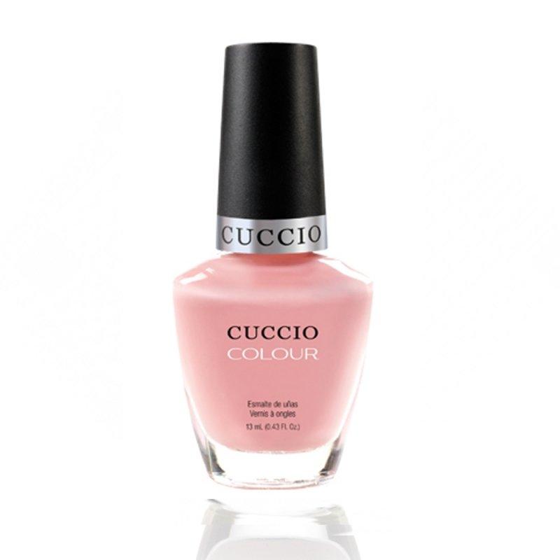 Cuccio Veneer, Лак цвет № 6098 Pinky Swear 13 mlЛаки Cuccio Veneer<br>Лак нежно-розовый, без блесток и перламутра, плотный.<br>