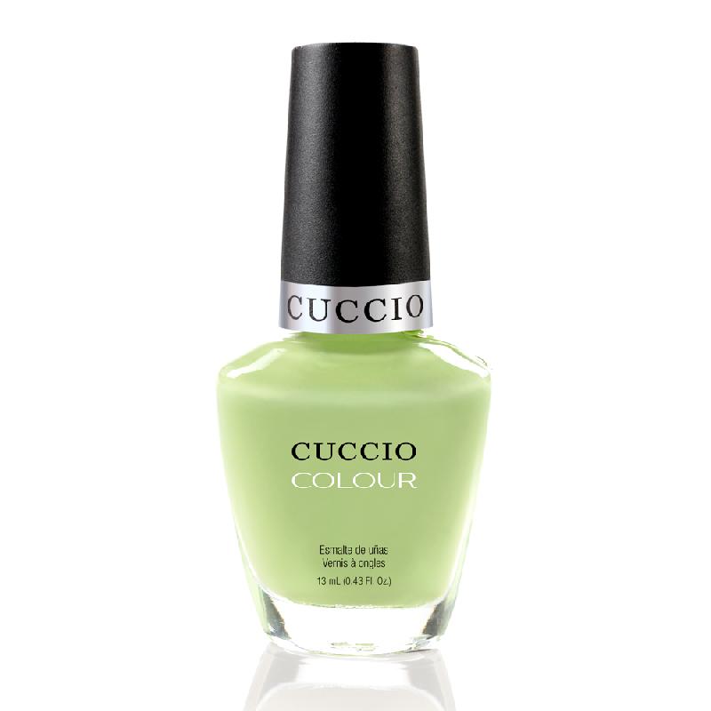 Cuccio Veneer, Лак цвет № 6103 In the Key Lime 13 mlЛаки Cuccio Veneer<br>Лак пастельный желтый, холодный оттенок, без блесток и перламутра, плотный.<br>