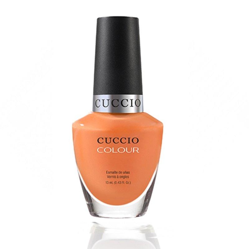 Cuccio Veneer, Лак цвет № 6157 Very Sherbert 13 mlЛаки Cuccio Veneer<br>Лакпастельный морковный, без блесток и перламутра, плотный.<br>