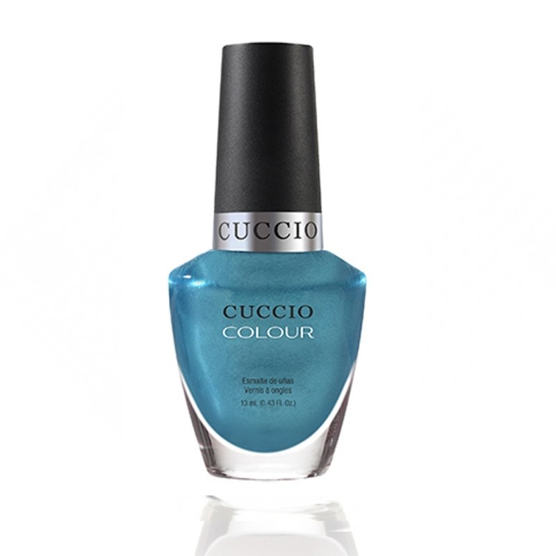 Cuccio Veneer, Лак цвет № 6162 Sugar Daddy 13 mlЛаки Cuccio Veneer<br>Лакбирюзово-голубой, перламутровый, плотный.<br>