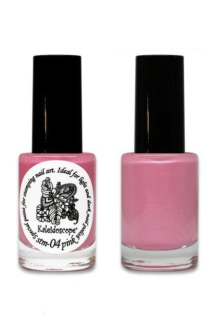 El Corazon, Краска для стемпинга - stm-04 Pink (розовый)Лаки для стемпинга El Corazon<br>Высокопигментированный лак-краска для стемпинга.<br>