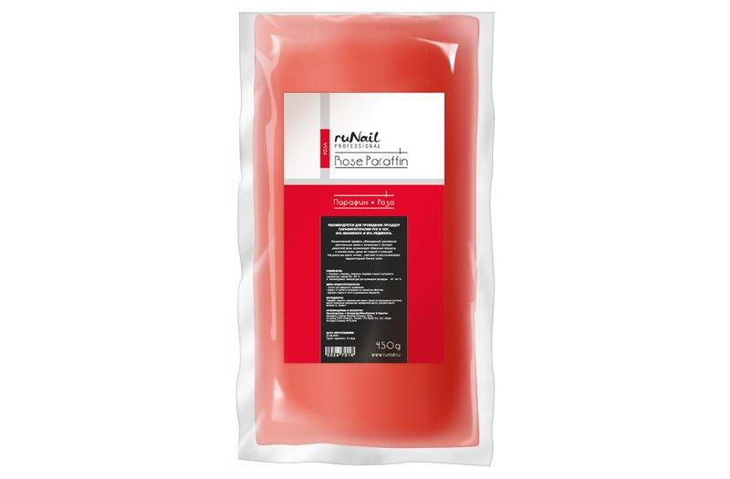 ruNail, Парафин «Роза», 450гПарафин<br>Косметический парафин с ароматом розы.<br>
