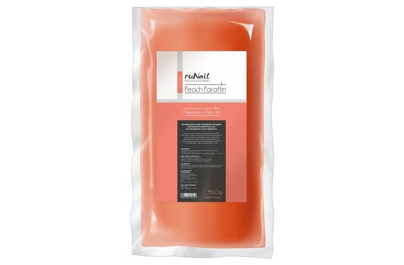 ruNail, Парафин «Персик», 450гПарафин<br>Косметический парафин с ароматом персика.<br>