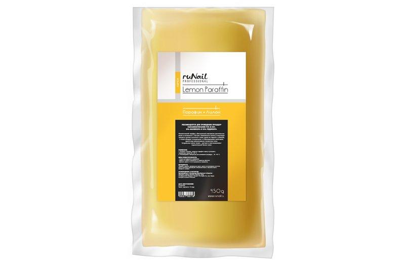 ruNail, Парафин - Лимон, 450гПарафин<br>Косметический парафин с ароматом лимона.<br>