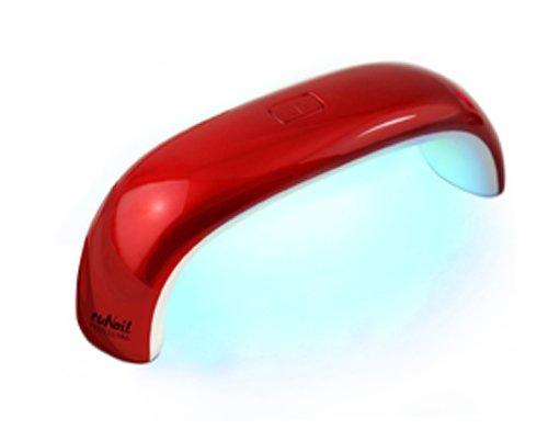 ruNail, LED Лампа 9 ватт (красная)LED-Лампы<br>LED лампа для полимеризации гель-лаков, мультилаков, перманентных лаков и других LED материалов.<br>