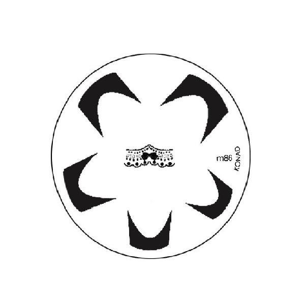 Konad, диск для стемпинга М86Диски для стемпинга Konad<br>Набор изображений для френча.<br>