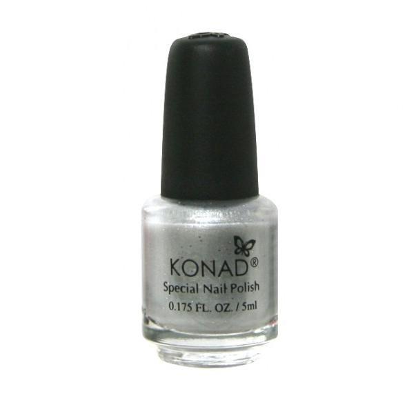 Konad, лак для стемпинга, цвет S03 Silver 5 ml (серебряный)Лаки для стемпинга Konad<br>Специальный лак для нанесения рисунка с помощью стемпинга.<br>
