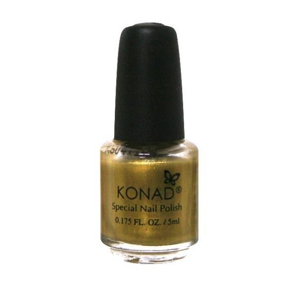 Konad, лак для стемпинга, цвет S04 Gold 5 ml (золотой)Лаки для стемпинга Konad<br>Специальный лак для нанесения рисунка с помощью стемпинга.<br>