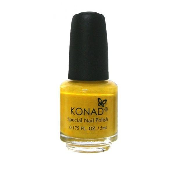 Konad, лак для стемпинга, цвет S06 Yellow 5 ml (желтый)Лаки для стемпинга Konad<br>Специальный лак для нанесения рисунка с помощью стемпинга.<br>