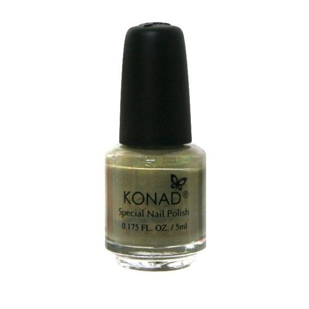 Konad, лак для стемпинга, цвет S07 Grey Pearl 5 ml (перламутрово-серый)Лаки для стемпинга Konad<br>Специальный лак для нанесения рисунка с помощью стемпинга.<br>