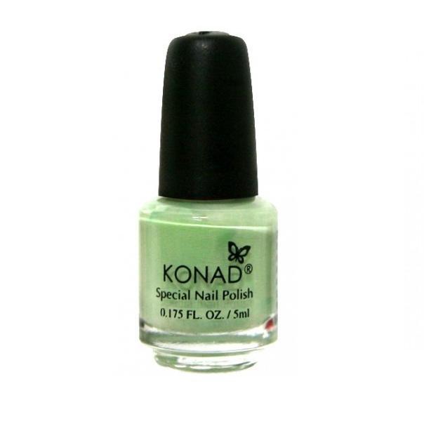 Konad, лак для стемпинга, цвет S08 Pastel Green 5 ml (пастельный зеленый)Лаки для стемпинга Konad<br>Специальный лак для нанесения рисунка с помощью стемпинга.<br>