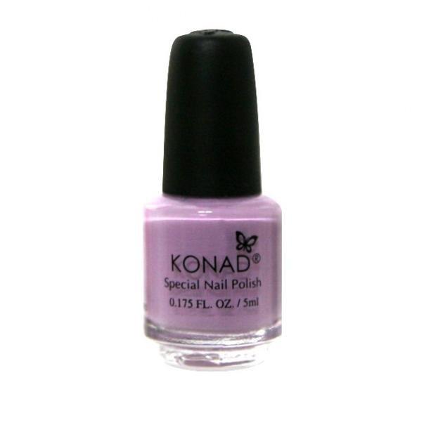 Konad, лак для стемпинга, цвет S17 Pastel Violet 5 ml (пастельно-фиолетовый)Лаки для стемпинга Konad<br>Специальный лак для нанесения рисунка с помощью стемпинга.<br>