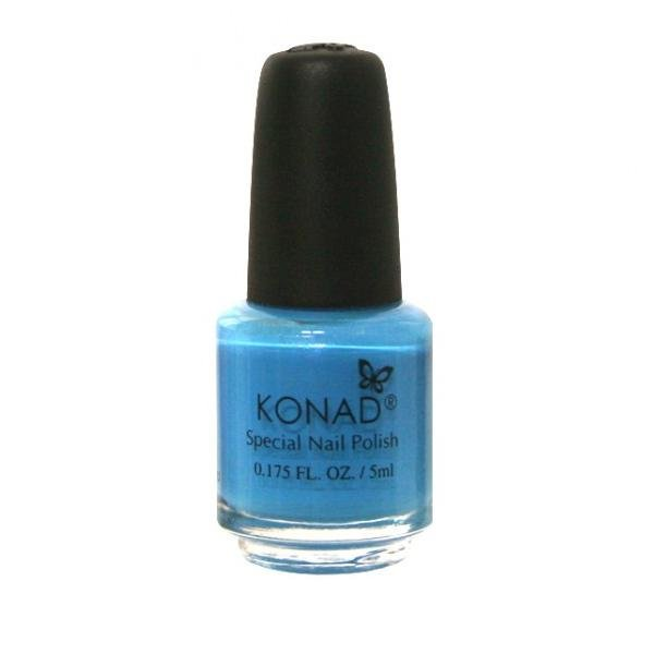 Konad, лак для стемпинга, цвет S21 Sky Pearl 5 ml (небесно-голубой)Лаки для стемпинга Konad<br>Специальный лак для нанесения рисунка с помощью стемпинга.<br>