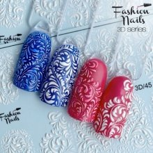 Fashion Nails, Слайдер дизайн - 3D №45