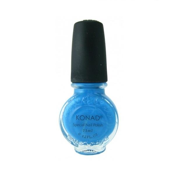 Konad, лак для стемпинга, цвет S21 Sky Pearl 11 ml (небесно-голубой)Лаки для стемпинга Konad<br>Специальный лак для нанесения рисунка с помощью стемпинга.<br>