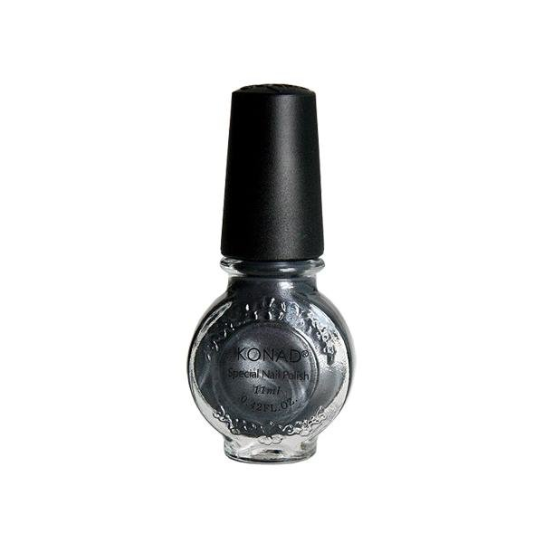 Konad, лак для стемпинга, цвет S58 Gray 11 ml (серый)Лаки для стемпинга Konad<br>Специальный лак для нанесения рисунка с помощью стемпинга.<br>