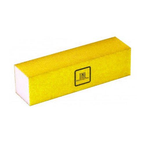TNL, Баф (неоновый желтый)Полировщики и баффы<br>Шлифовщик для натуральных ногтей (неоновый желтый)<br>