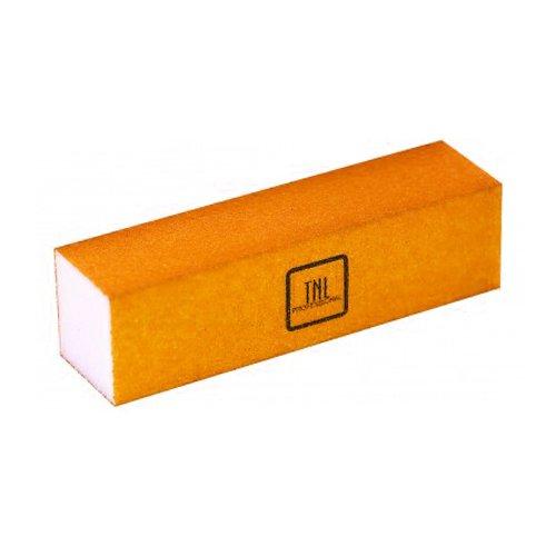 TNL, Баф (неоновый оранжевый)Полировщики и баффы<br>Шлифовщик для натуральных ногтей (неоновый оранжевый)<br>