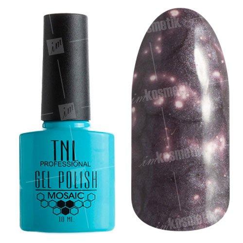 TNL, Гель-лак - Mosaic Effect №43Мозаика<br>Гель-лактемно-серо-фиолетовый, с перламутром, плотный<br>