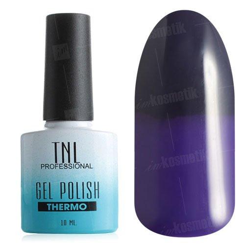 TNL, Гель-лак - Thermo Effect №14 Сапфировый/Фиолетовый (10 мл.)Термо<br>Термо гель-лак темный сапфировый/фиолетовый, без блесток и перламутра, плотный<br>