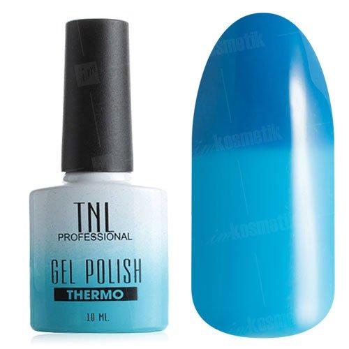 TNL, Гель-лак - Thermo Effect №17 Кобальт/Голубой (10 мл.)Термо<br>Термо гель-лак кобальт/голубой, без блесток и перламутра, плотный<br>
