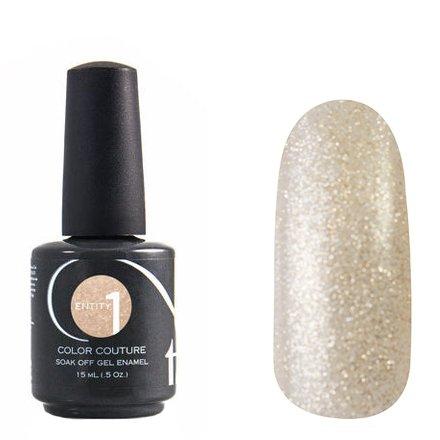 Entity One Color Couture, цвет №7087 Metal Brocade 15 mlColor Couture Entity One<br>Гель-лак прозрачный с бежевым оттенком, с золотыми и серебряными блестками, полупрозрачный<br>
