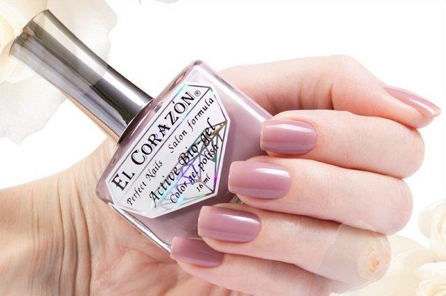 El Corazon Active Bio-gel Jelly, № 423-55Лечебный биогель El Corazon<br>Био-гель серо-розовый, без блесток и перламутра, плотный. Объем 16 ml.<br>