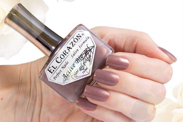 El Corazon Active Bio-gel Shimmer, № 423-6Лечебный биогель El Corazon<br>Био-гельрозово-кофейный, с золотистым шиммером, плотный. Объем 16 ml.<br>