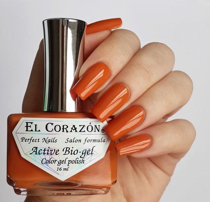 El Corazon Active Bio-gel Color gel polish Cream №423-274Лечебный биогель El Corazon<br>Био-гель дымчато-морковный, без блесток и перламутра, плотный. Объем 16 ml.<br>