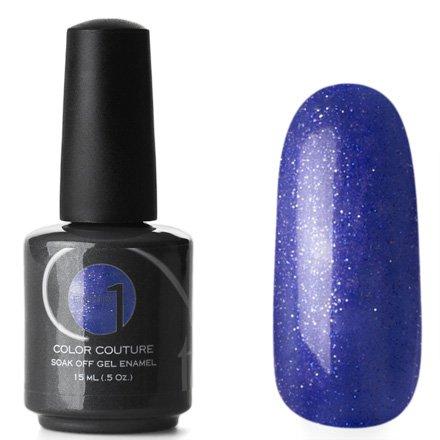 Entity One Color Couture, цвет №6219 Star Quality 15 mlColor Couture Entity One<br>Гель-лак темный насыщенный сиреневый с многочисленными серебристыми и голубыми микроблестками, плотный<br>
