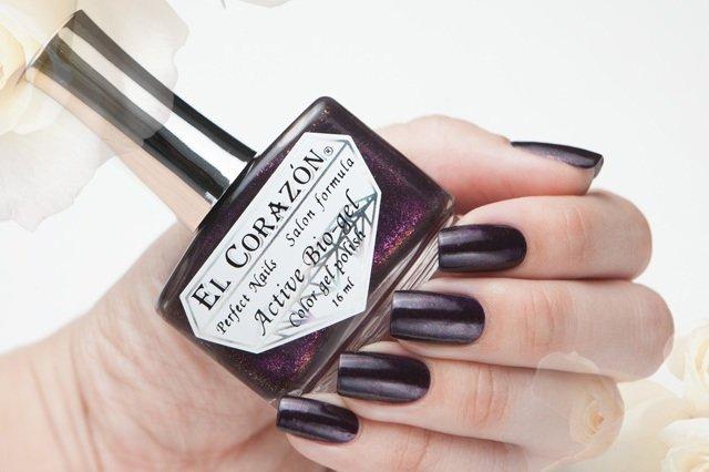 El Corazon Active Bio-gel Magic ban № 423-581Лечебный биогель El Corazon<br>Био-гель чернильный, с розовыми блестами, плотный. Объем 16 ml.<br>