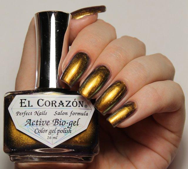 El Corazon Active Bio-gel Maniac Hope № 423-703Лечебный биогель El Corazon<br>Био-гель золотой хамелеон, плотный. Объем 16 м.<br>