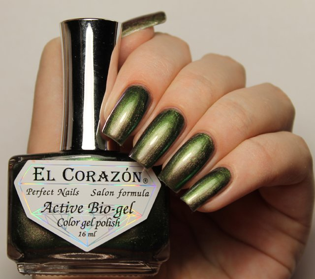 El Corazon Active Bio-gel Maniac Poison № 423-704Лечебный биогель El Corazon<br>Био-гель зеленый хамелеон, плотный. Объем 16 м.<br>