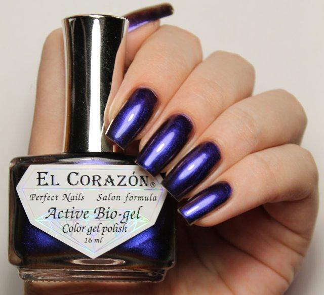 El Corazon Active Bio-gel Maniac Desire № 423-706Лечебный биогель El Corazon<br>Био-гель сиреневый хамелеон, плотный. Объем 16 м.<br>