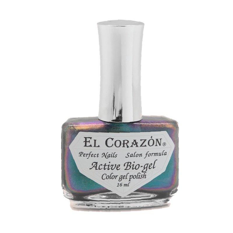 El Corazon Active Bio-gel Life is Life Butterfly Effect № 423/745Лечебный биогель El Corazon<br>Био-гель бирюзовый,хамелеон, плотный. Объем 16 м.<br>