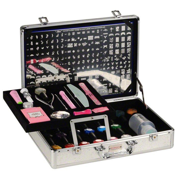 Konad, набор для стемпинга Pro Salon Kit 3Наборы для стемпинга Konad<br>Профессиональный набор, состоящий из лучших продуктов Konad.<br>