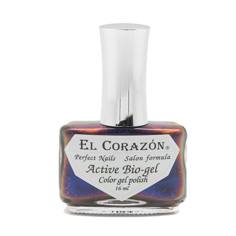 El Corazon Active Bio-gel The Pleiades № 423/763Лечебный биогель El Corazon<br>Био-гель глубокий синий,хамелеон, плотный. Объем 16 м.<br>