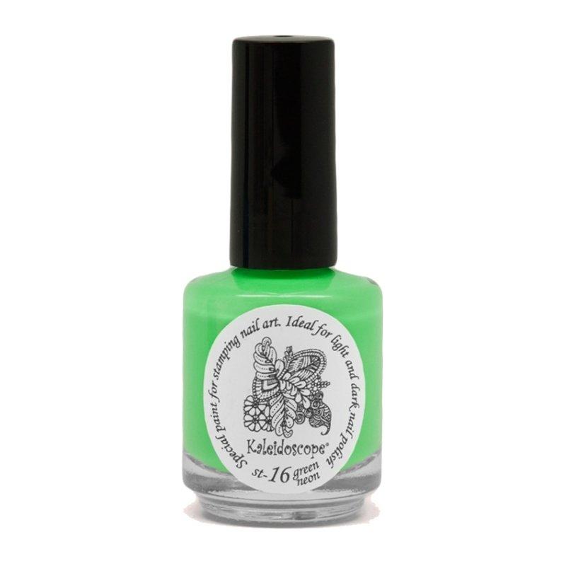 El Corazon, Лак для стемпинга St-16 (green neon) 15мл (EL Corazon)
