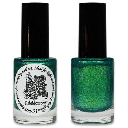 El Corazon, Краска для стемпинга - stm-31 Emerald bayЛаки для стемпинга El Corazon<br>Высокопигментированный лак-краска для стемпинга.<br>