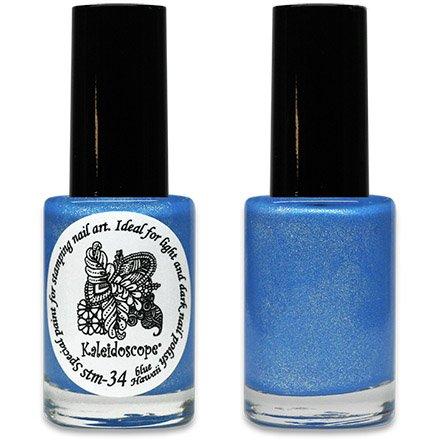 El Corazon, Краска для стемпинга - stm-34 Blue HawaiiЛаки для стемпинга El Corazon<br>Высокопигментированный лак-краска для стемпинга.<br>