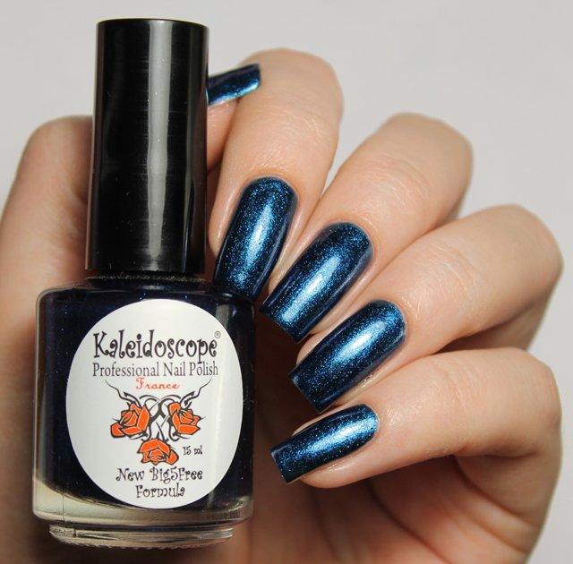 El Corazon, Kaleidoscope № Nd-09 СтрелецЛаки Kaleidoscope<br>Лак для ногтей насыщенный синий, с блестками, плотный.<br>